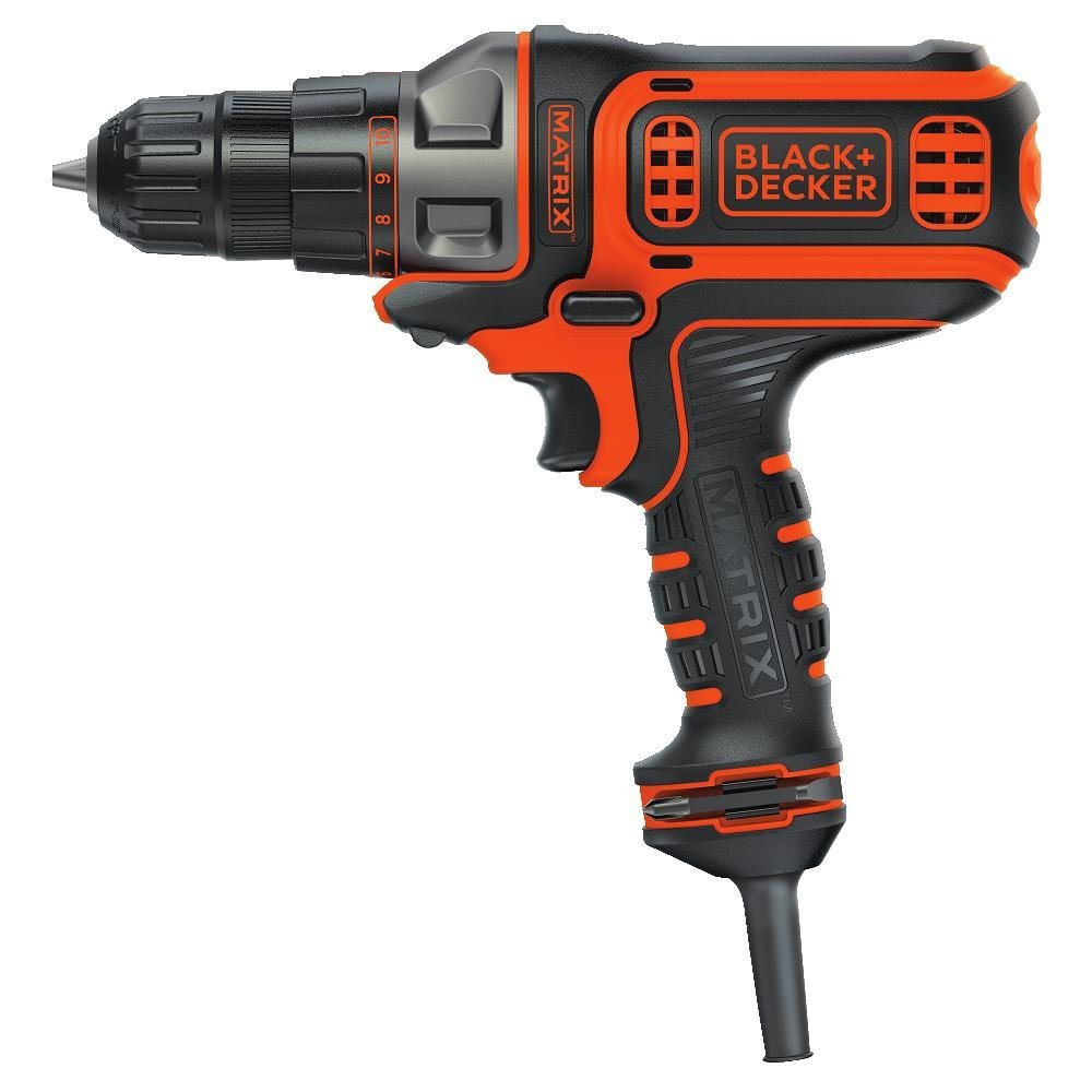 Black  Decker BDEDMT Matrix AC Drill/Driver