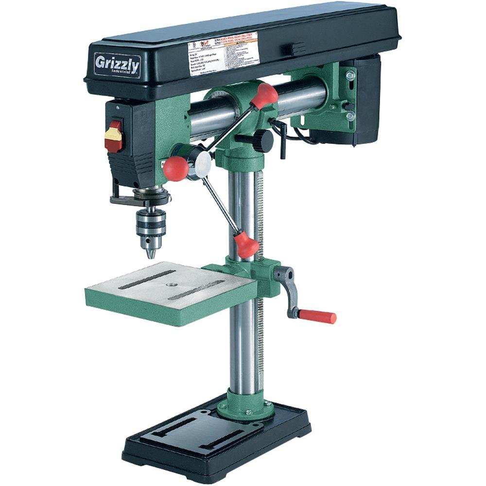 Grizzly G7945 5 Speed Bench Top Radial Drill Press