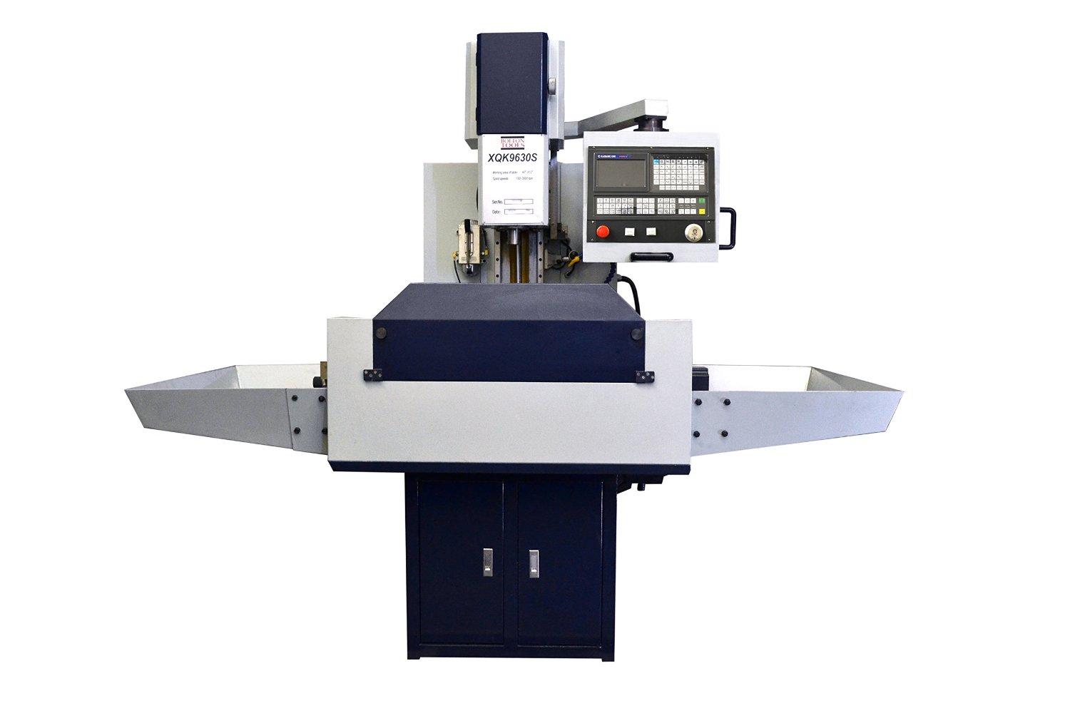 Bolton 4 Axis CNC Milling Machine 118x394 Table Size