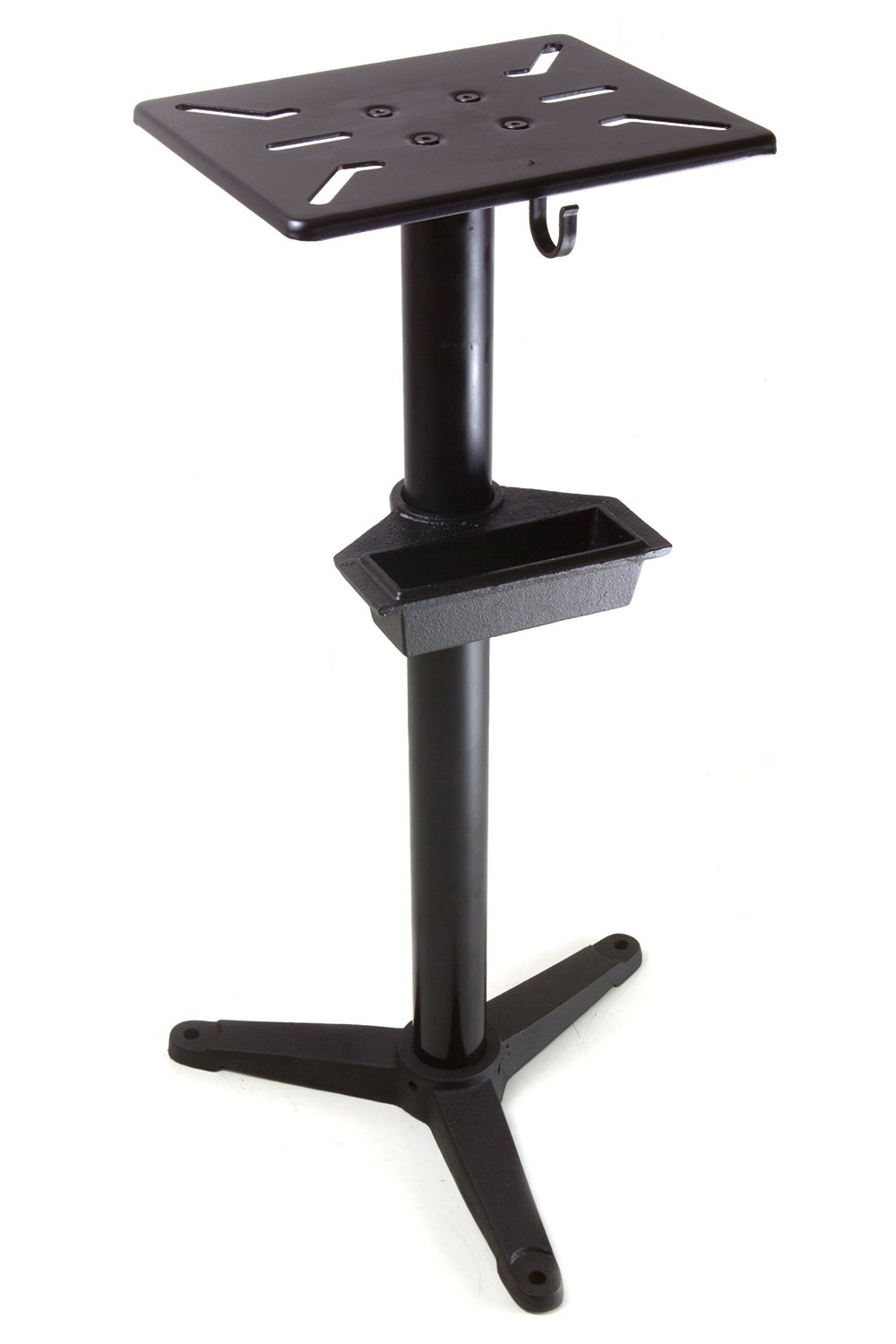 WEN 4288 Cast Iron Bench Grinder Pedestal Stand with