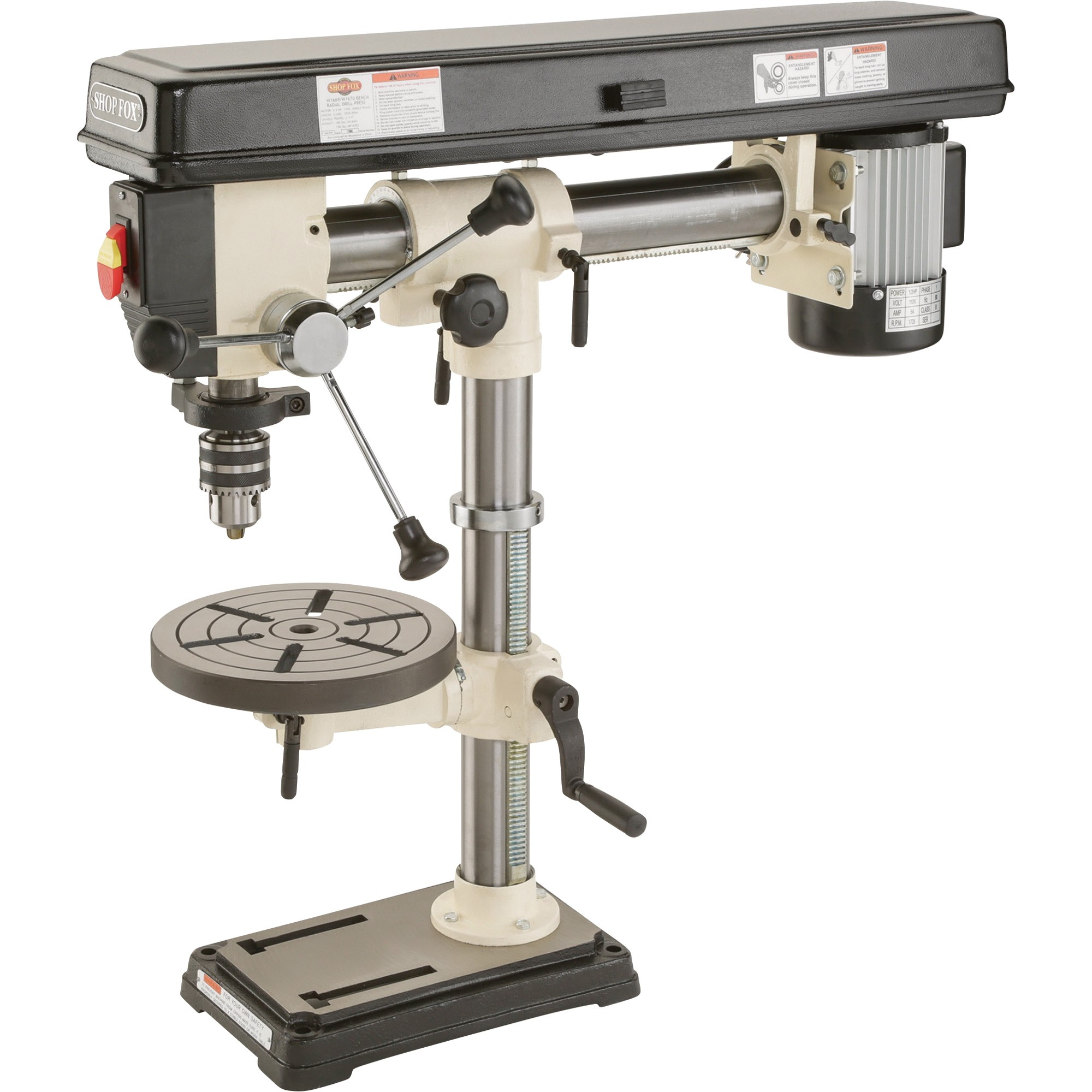 Klutch drill press