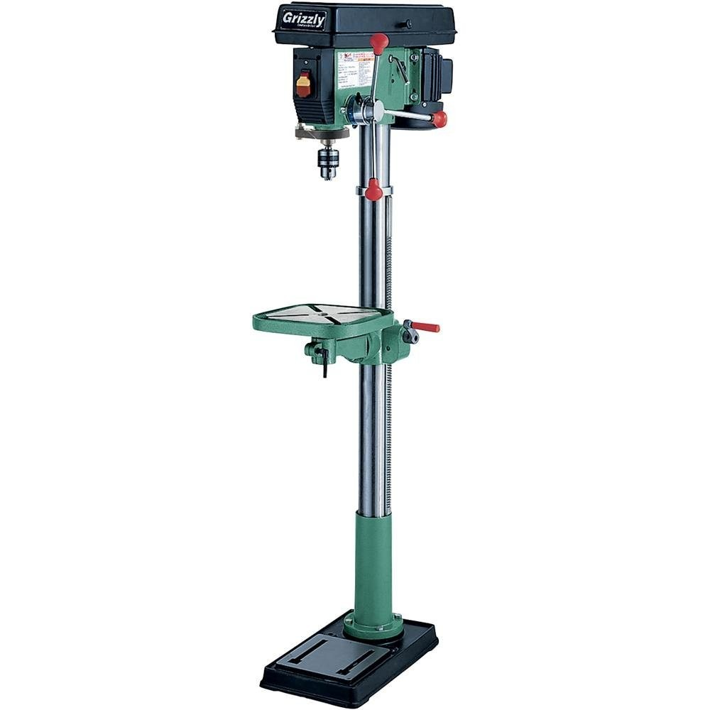 Grizzly G7944 12 Speed Heavy-Duty Floor Drill Press, 14-Inch