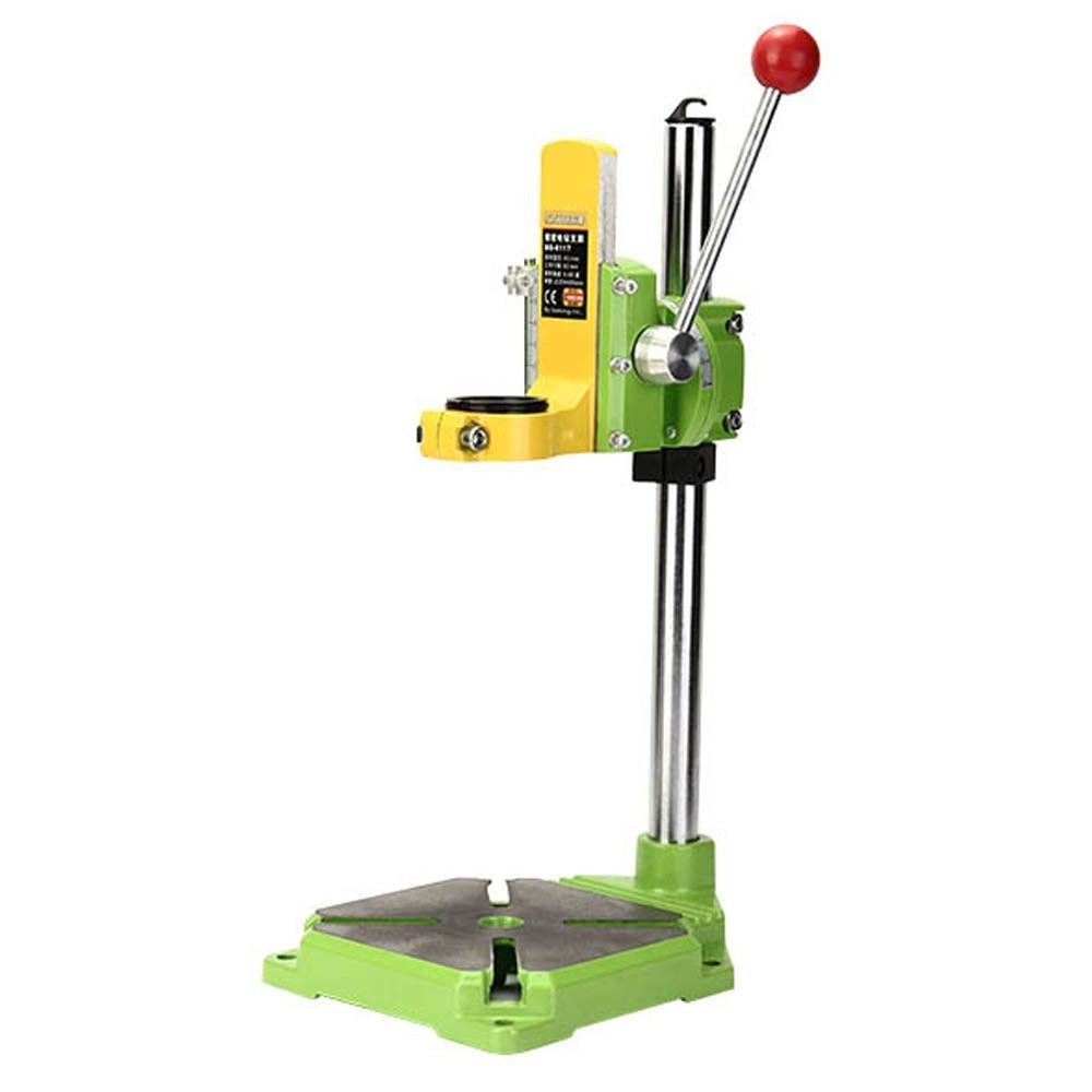 Lukcase Floor Drill Press Stand Table for Drill Workbench Repair Tool Clamp for Drilling Collet, drill Press Table