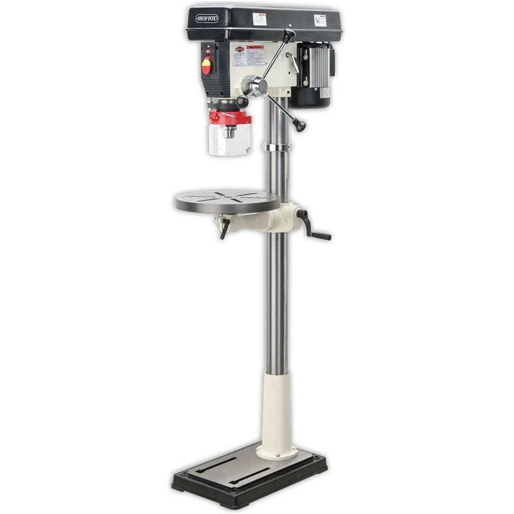 SHOP FOX W1680 1-Horsepower 17-Inch Floor Model Drill Press