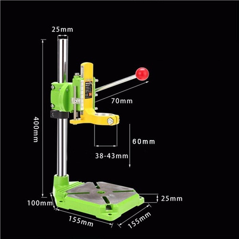 Amyamy Floor Drill Press Rotary Tool Workstation Drill