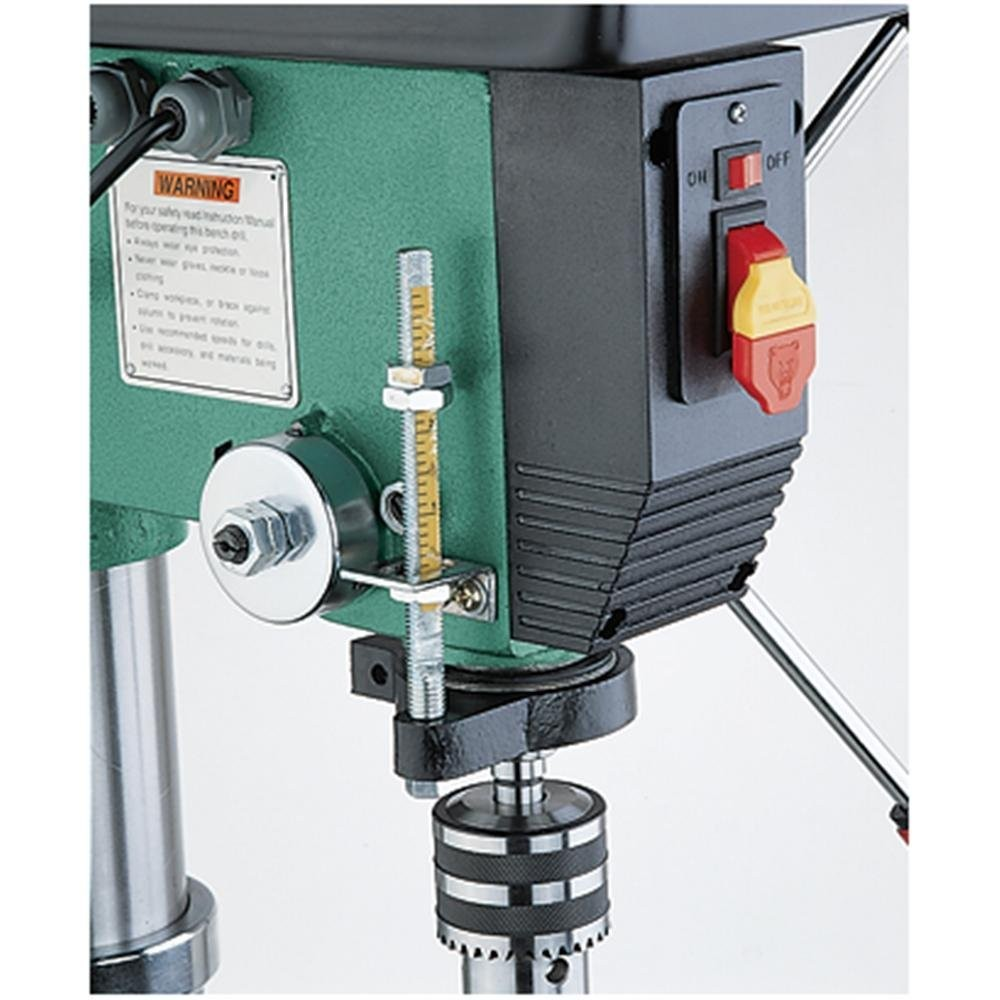 Grizzly G7944 12 Speed Heavy Duty Floor Drill Press 14 Inch