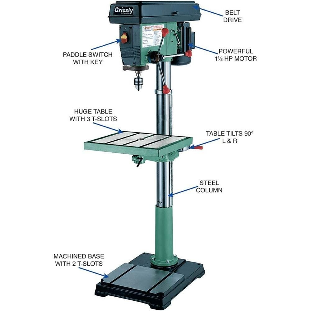 Grizzly G7948 drill press
