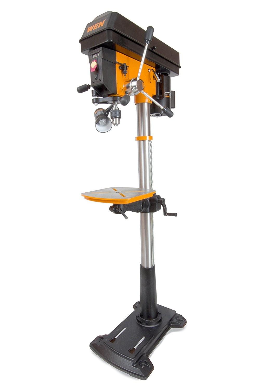 Wen 4225 8 6 Amp Variable Speed Floor Standing Drill Press