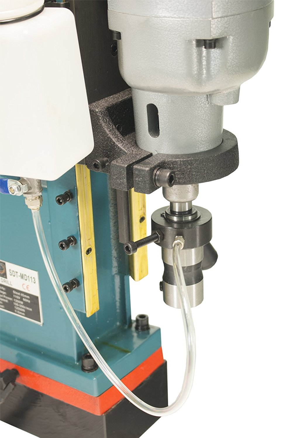 Steel drill press