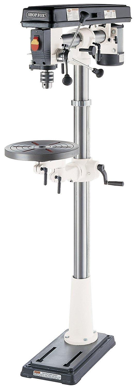 SHOP FOX W1670 1/2-Horsepower Floor Radial Drill Press