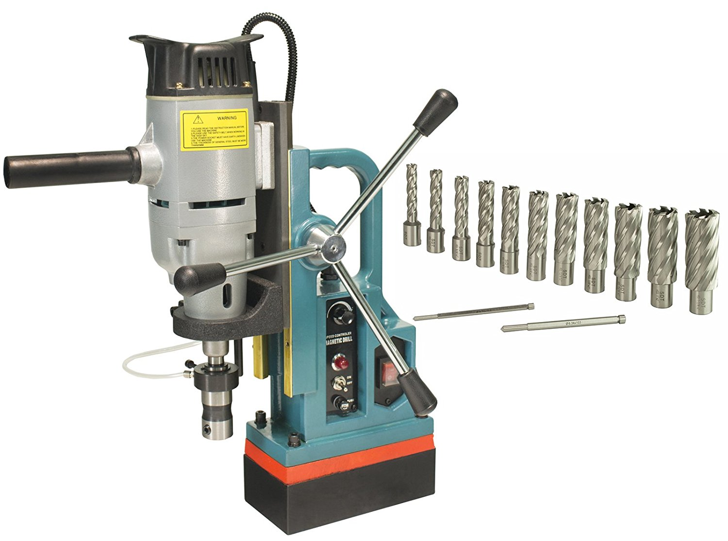 Steel Dragon Tools MD45 Magnetic Drill Press with 1-3/4