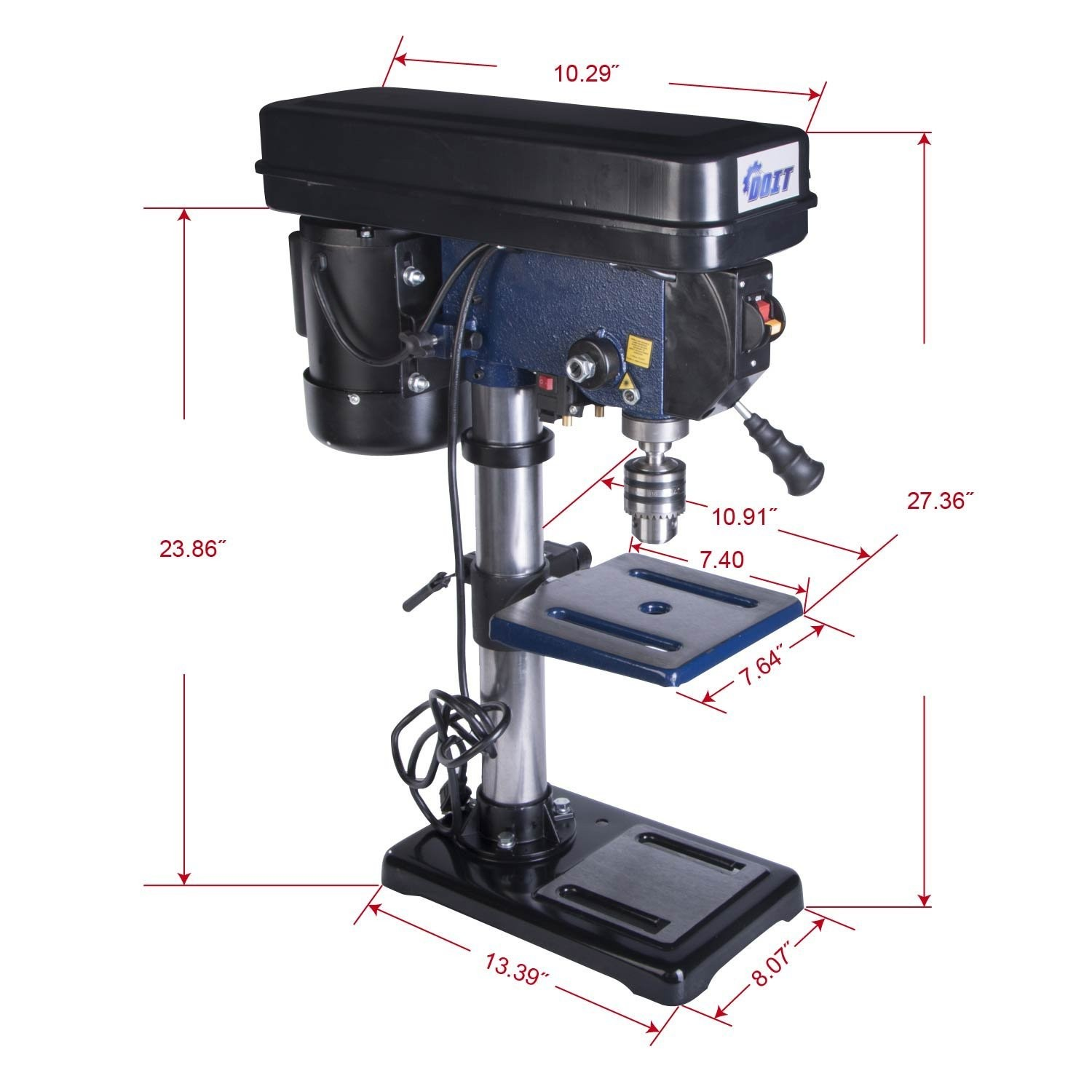 Doitpower 10-Inch drill press