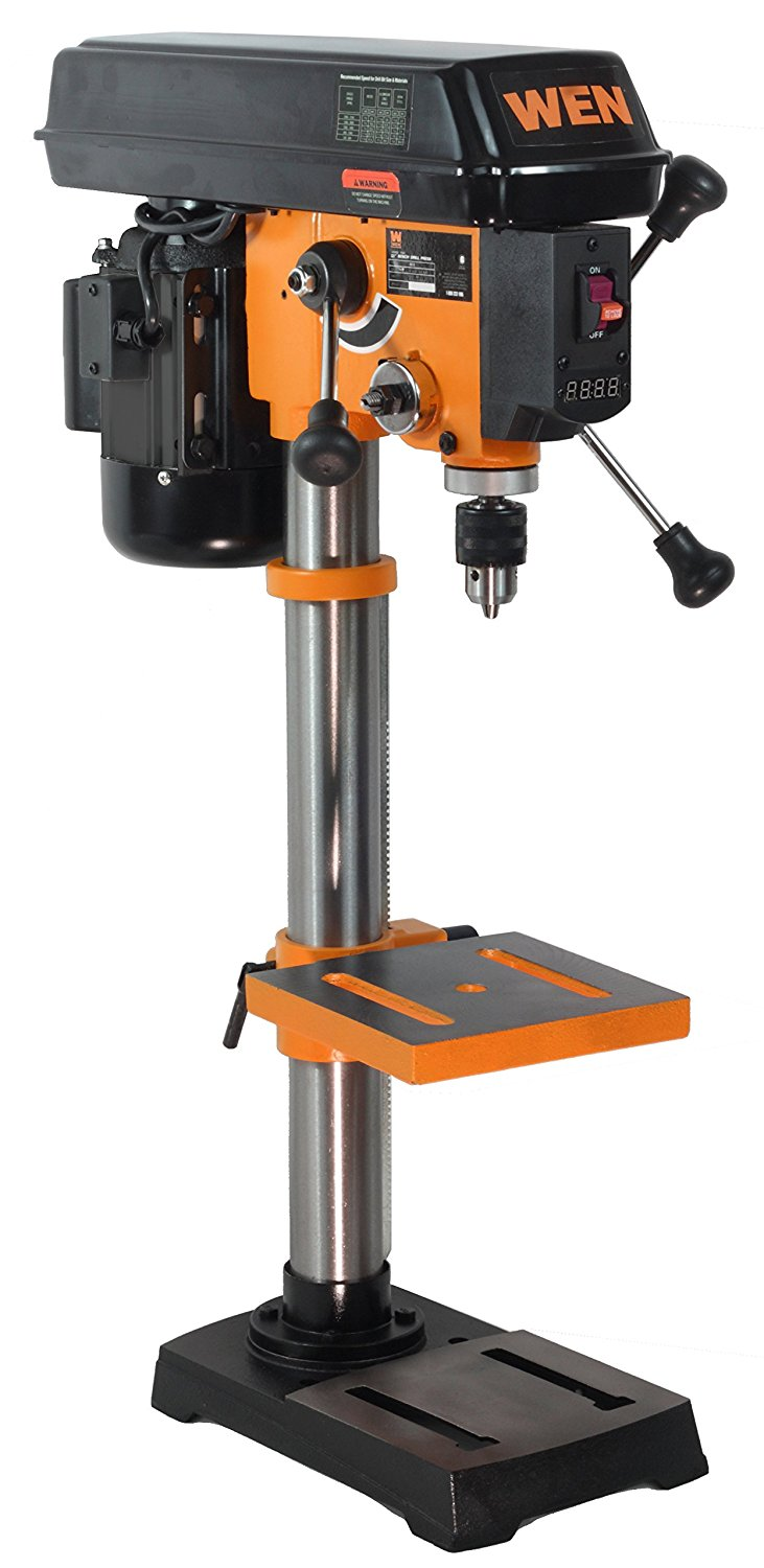 Wen 4212 10 Inch Variable Speed Drill Press