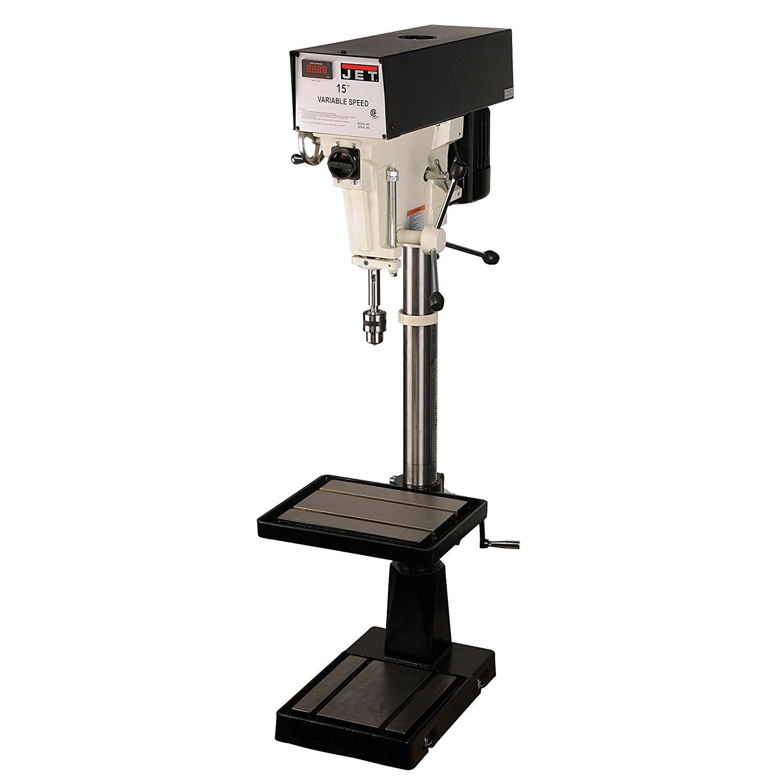 JET J-A5816 15-Inch 1-Horsepower 115/230-Volt Single Phase Variable Speed Floor Drill Press