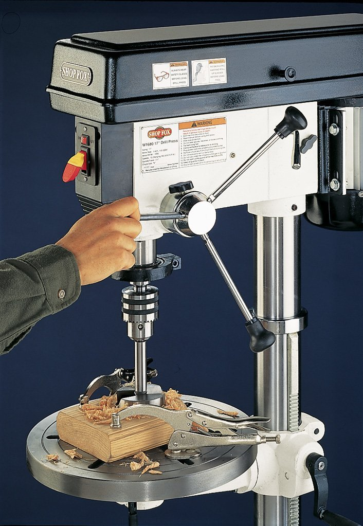 SHOP drill press review