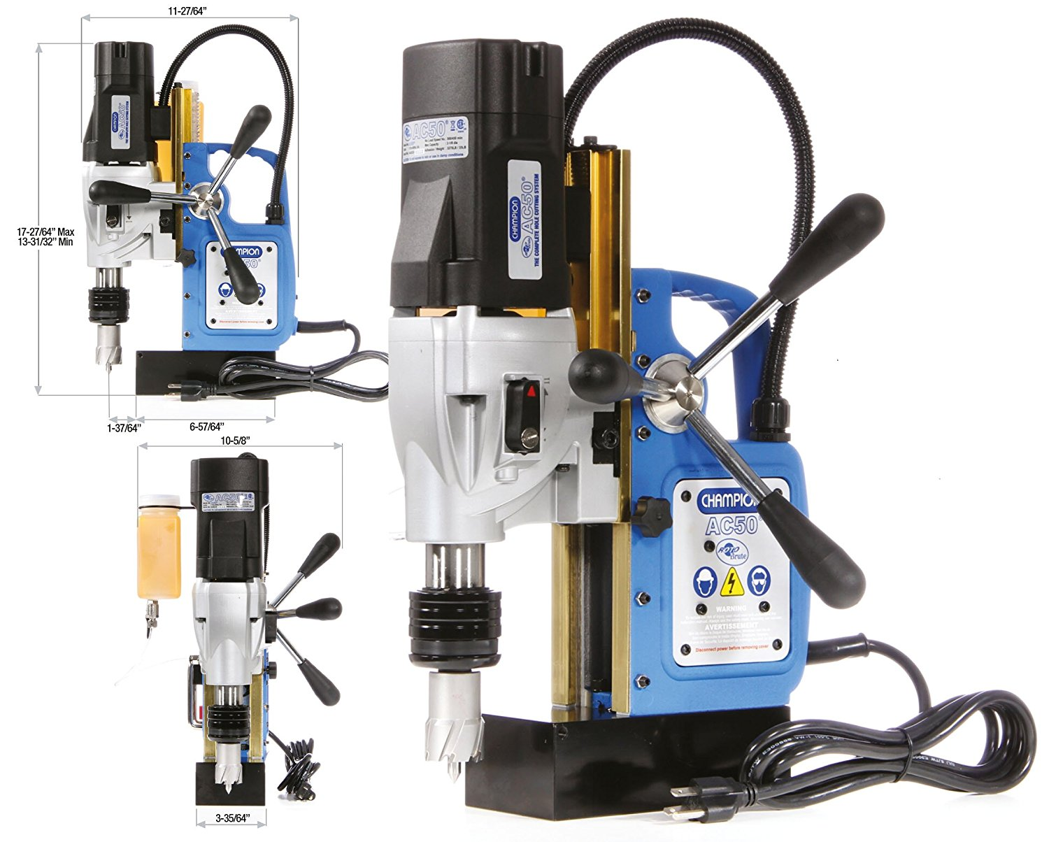 Champion Cutting drill press