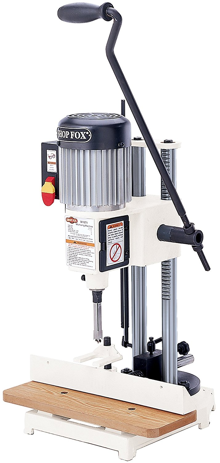 Shop Fox W1671 3/4 HP Heavy-duty Mortising Machine