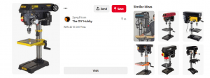 Similar Wen Drill Press from Pinterest